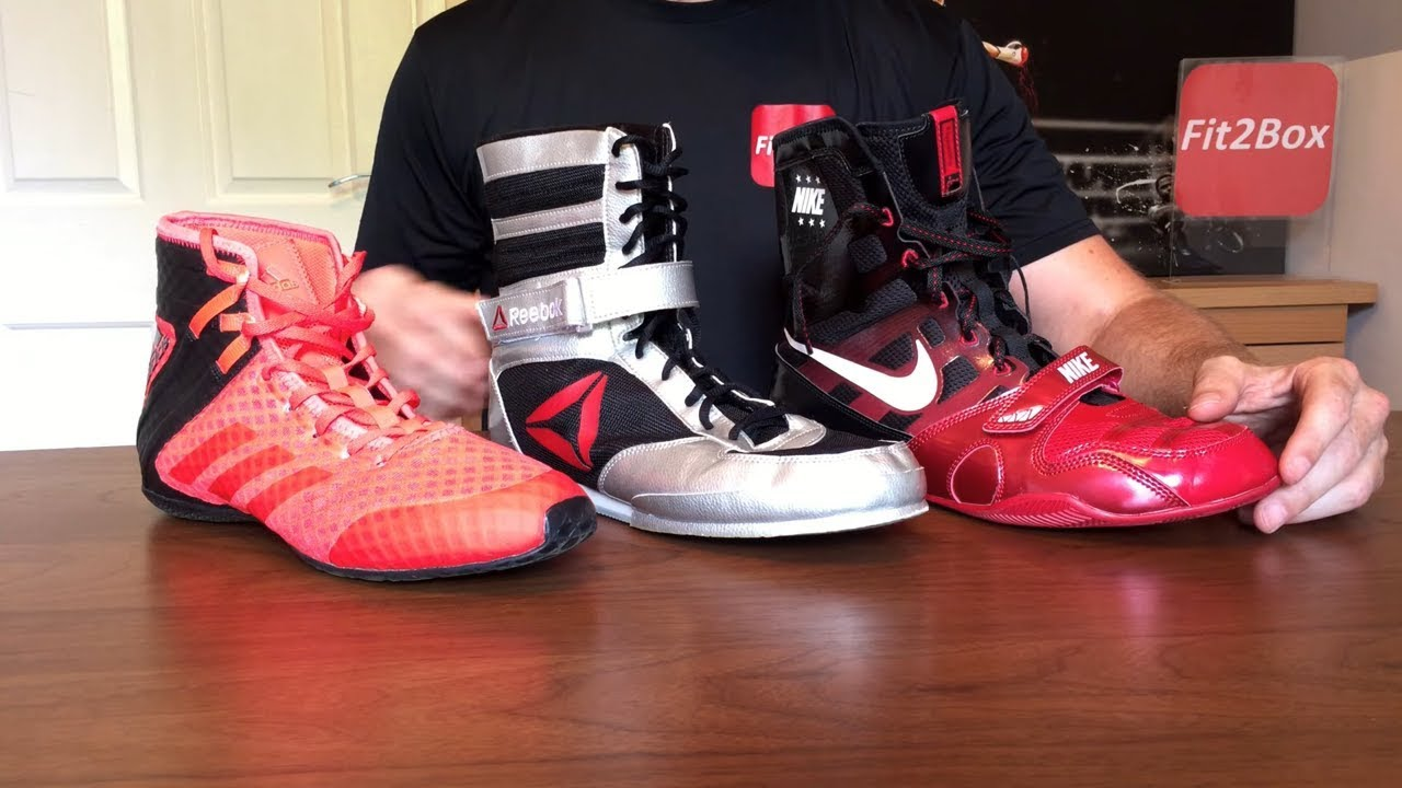 Nike KO Mid Boxing Shoes | TITLE Boxing Gear