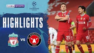 Liverpool 2-0 Midtjylland   Champions League 20/21 Match Highlights