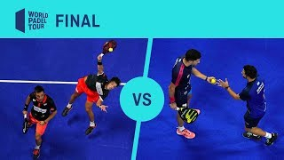 Final Bela/Tapia Vs Sanyo/Maxi Estrella Damm Madrid Master | World Padel Tour