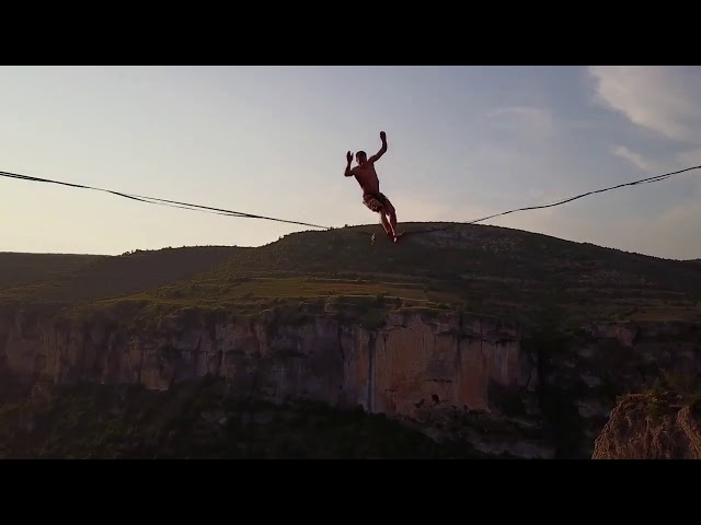 CLIP promotionnel THT  - TROGLODYTE HIGHLINE TOUR 2019