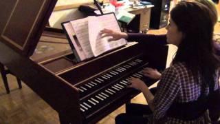 Persichetti Harpsichord Sonata, mvmt 2 - Michelle Horsley