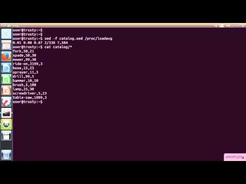 Linux Administration with sed and awk