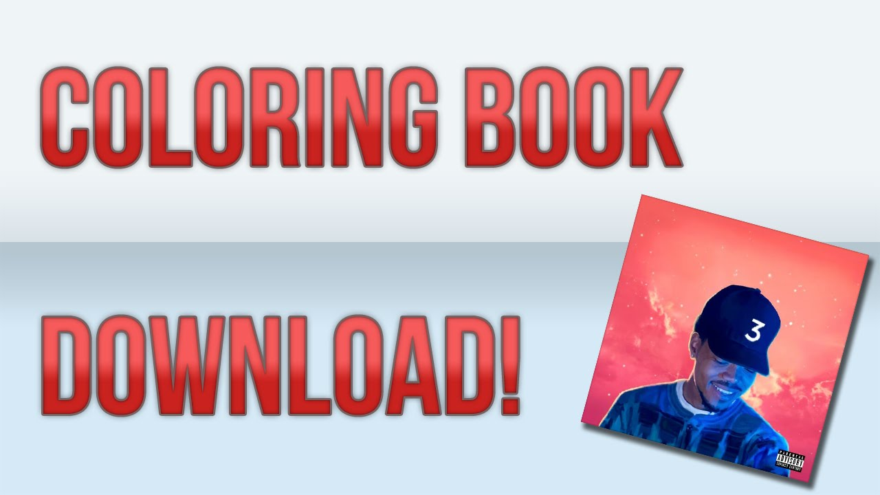 how to download colouring boo chance the rapper
