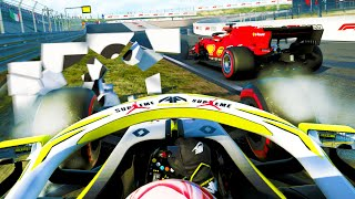 NEVER SEEN THIS ON A LAST LAP! MOST INTENSE RACE YET! - F1 2020 MY TEAM CAREER Part 85