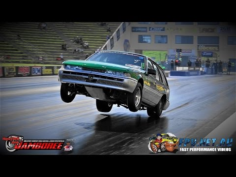 CRAZY WHEELSTANDING 8 SEC 2JZ POWERED VL WAGON SPOT ON PERFORMANCE