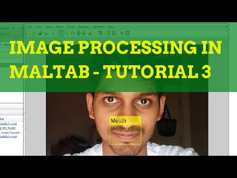 Image Processing in MATLAB Tutorial 3 - Face Features Detection