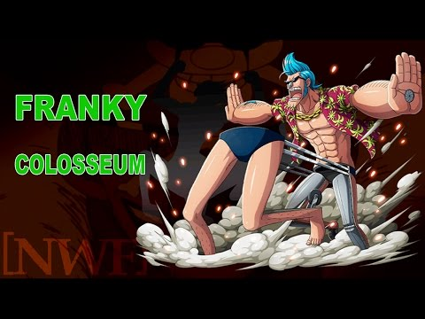 [OPTC] Franky Colosseum ALL STAGES (Admiral's Power!! Kuzan clears everything!!) [NWF Rob_Lucci]