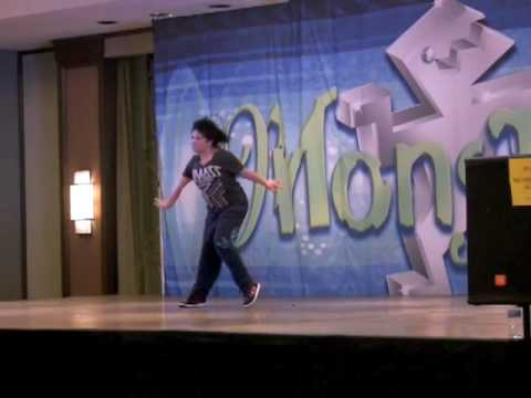 Parris Goebel - Monsters of Hip Hop Dallas 2010 - Saga