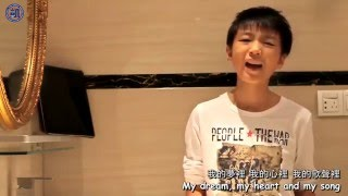 "【TFBOYS 王俊凯】我的歌聲里 ""You Exist In My Song"" (2012) 【Karry Wang Junkai】English Sub."