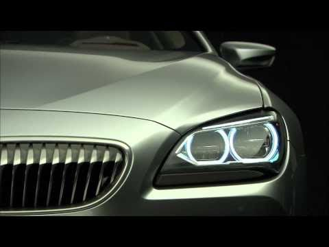 BMW 6 Series Coupe Concept (F12) - First exterior high def video