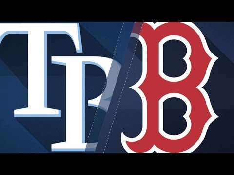 Bogaerts drives in six as Red Sox down Rays: 4/7/18