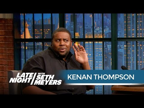 Kenan Thompson Remembers Strange Advice from Bill Cosby  Late Night with Seth Meyers