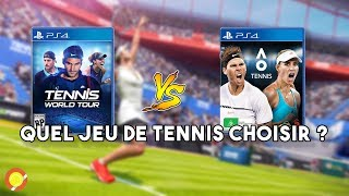 TENNIS WORLD TOUR ou AO TENNIS ? | Versus