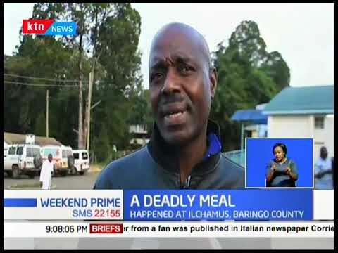 2 people have died after consuming githeri, 15 others fighting for their lives