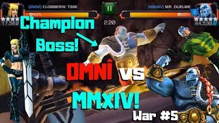 Champion Boss! ØMNÎ vs MMXIV! Electro? - Marvel Contest of Champions