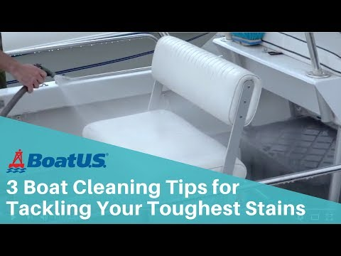3 Boat Cleaning Tips & Tricks to Tackle Your Toughest Stains | BoatUS