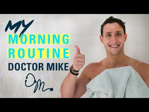 MY MORNING ROUTINE | Doctor Mike