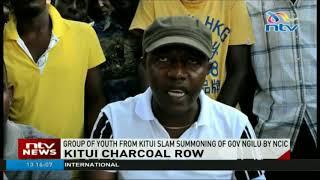 Group of youth from Kitui slam summoning of governor Ngilu by NCIC