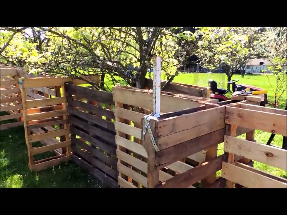 how to build a sheep pen