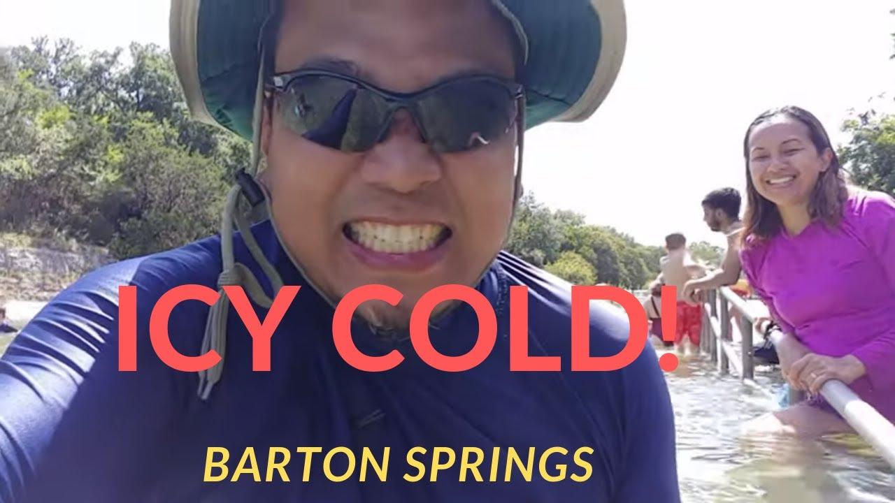 BARTON SPRINGS AUSTIN TEXAS AUGUST 2019 - YouTube