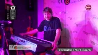 Yamaha PSR-S670 demo - test dla E MUZYK pl