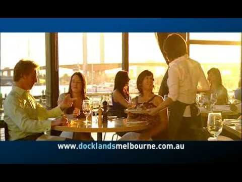 Docklands Melbourne Australia, Dining, Shopping, Entertainment