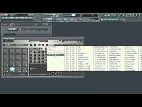 FL Studio - FPC Four | Tweaking Samples & MIDI Assignments