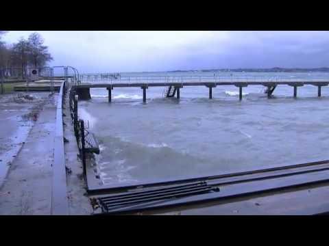 Sturm-Impressionen Vom See