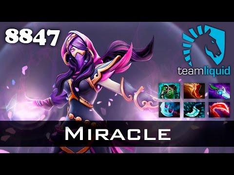 Miracle Lanaya - 8847 MMR Dota 2