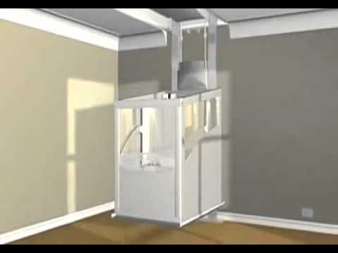 Mini ascensori da interno one srl youtube - Ascensori interni casa ...