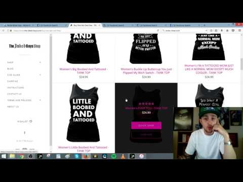 Shopify Dropshipping Product Research Technique Using Advanced Facebook Searches