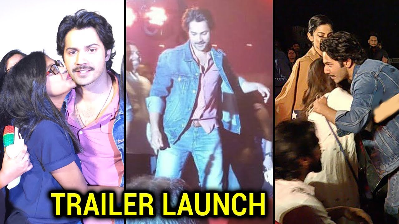 Varun Dhawan Meets And Greets His Fans At October Trailer Launch