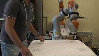 Hierarchical Task-Priority Control for Human-Robot Co-Manipulation