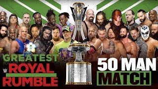Full WWE Greatest Royal Rumble PPV preview and predictions #WWEGRR