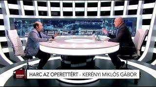 """Kerényi Miklós Gábor """"KERO"""" lesz a ma esti Egyenes Beszéd vendége  - 19:00"""