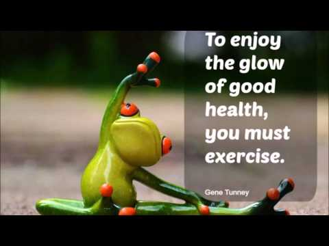 Body Exercise - Positive Fitness Quotes