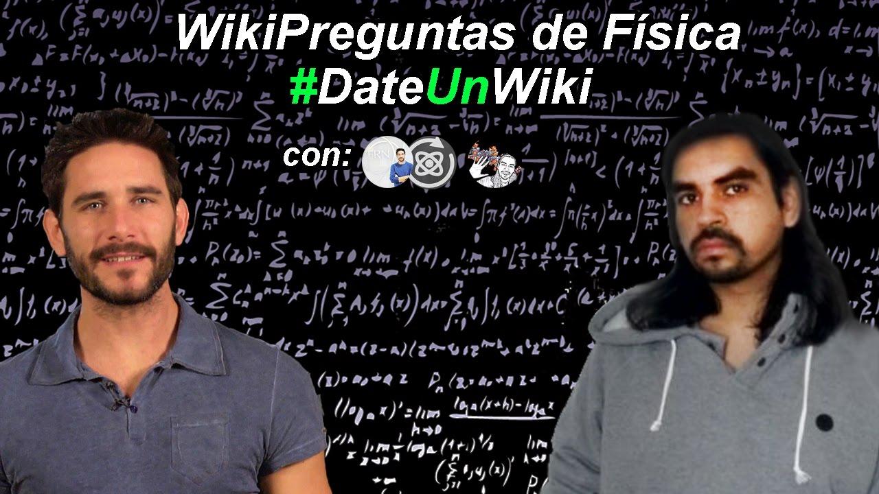 #WikiPreguntas de Física con Javier Santaolalla