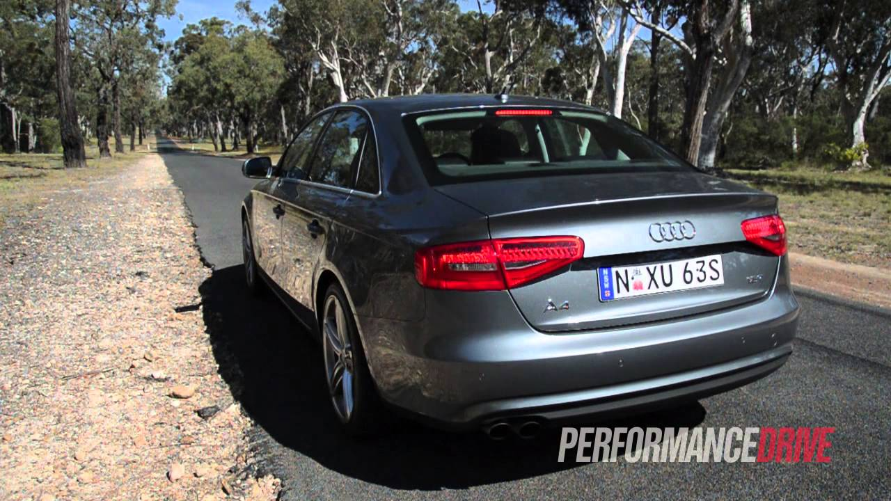2013 Audi A4 18 Tfsi Sport Edition Engine Sound And 0 100kmh Youtube