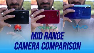 Oppo F9 Vs Vivo V11 Vs Nova 3i Camera comparison