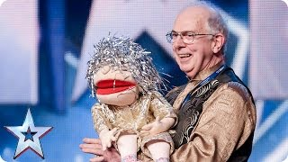 Magician and handyman Jeffrey is a jack of all tricks | Audition Week 2 | Britain's Got Talent 2015
