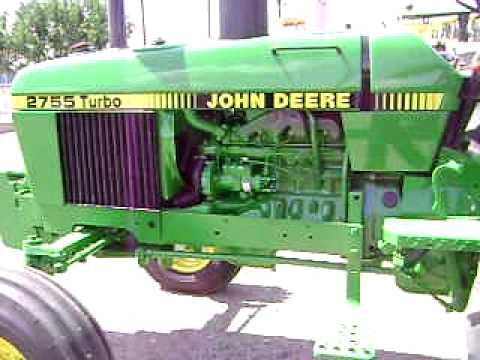 Tractor John Deere 2755 Turbo $18,500 Dlls Mexicano jhie