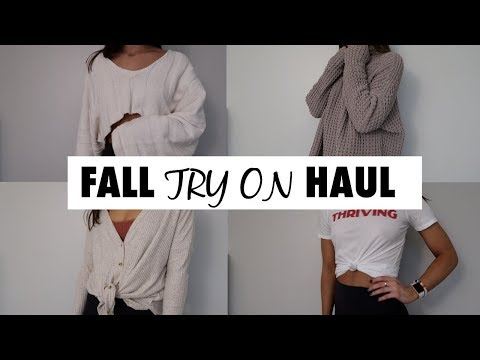 FALL 2017 TRY ON HAUL - URBAN OUTFITTERS | Maggie MacDonald