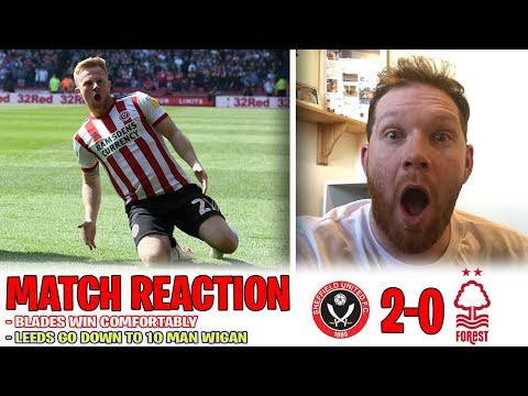 BLADES WIN AND LEEDS LOSE 😮😮😮 | Sheffield United and Leeds United match reactions | Ingood Nick