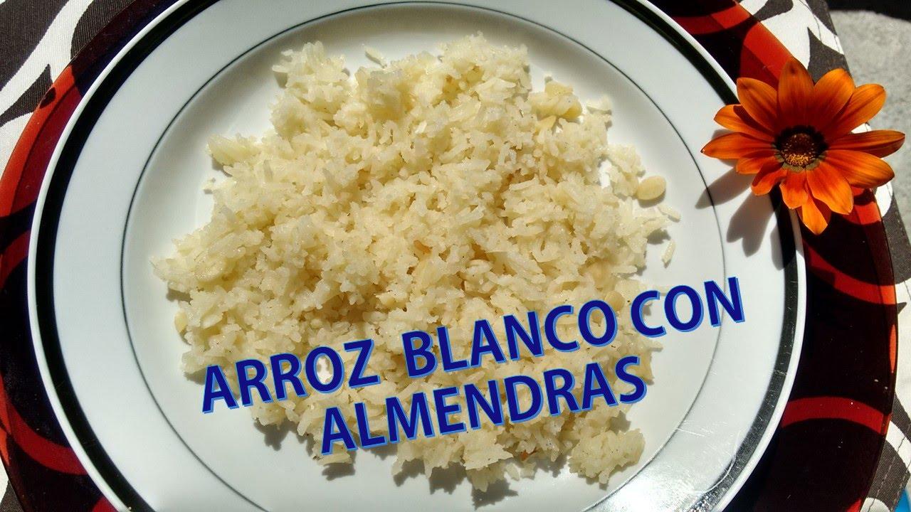 Arroz Con Almendras Receta