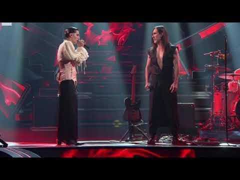 Sanremo 2021: Maneskin cantano AMANDOTI feat. Manuel Agnelli - Music Star