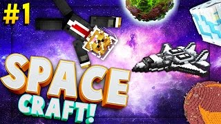 Download Video Minecraft SPACE CRAFT - TO THE MOON - Modded Survival #1 MP3 3GP MP4