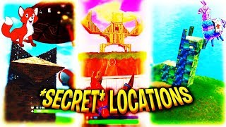 SECRET CHALLENGE LOCATION- Lama, Fox et Crabe! LEVEL UP VOTRE TIERS FASTER (Fortnite Battle Royale)