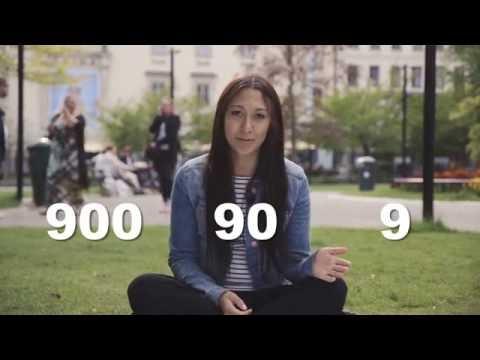 Tiếng Thụy Điển bài 2B: Đếm số trên 100