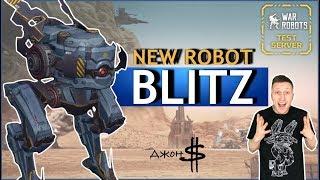 War Robots - Blitz! Новый нагибательский робот!!!