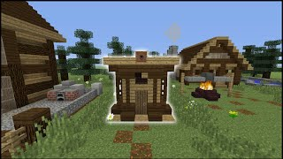 Minecraft Tutorial: How To Make An Outhouse Toilet